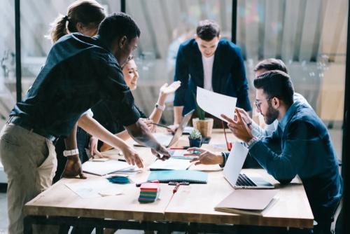 Collaborative Flexible Work Environment