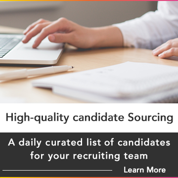 High Volume Candidate Sourcing